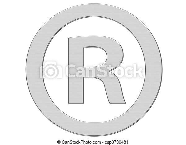 registered symbol csp0730481