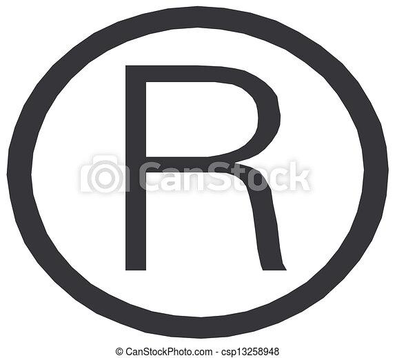 registered symbol csp13258948