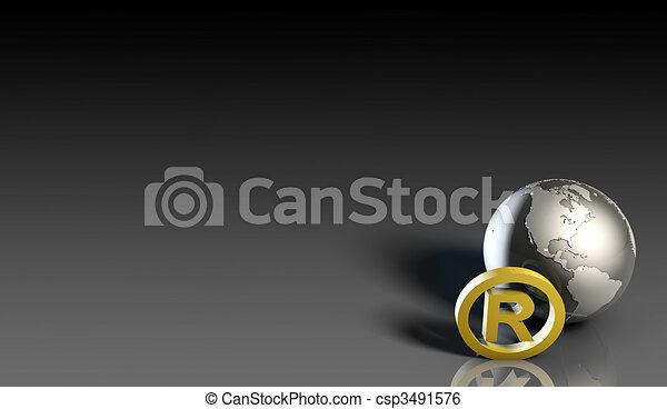 Registered Trademark - csp3491576