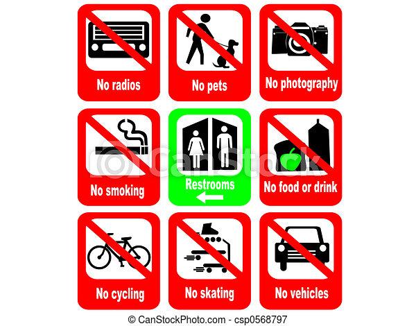 Las reglas de la atracción turística - csp0568797
