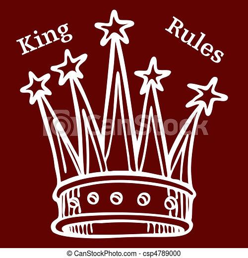 El rey manda - csp4789000