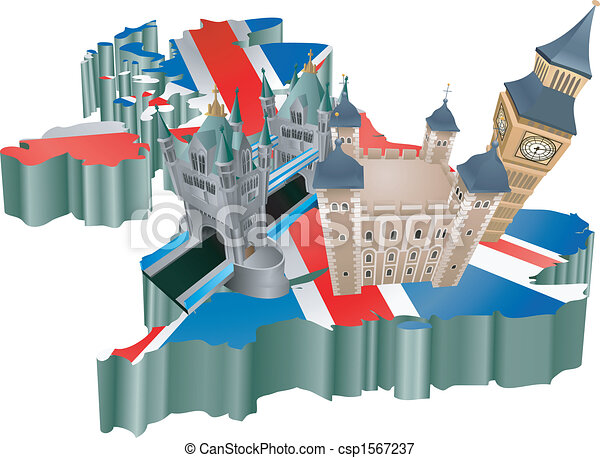 regno, unito, turismo - csp1567237