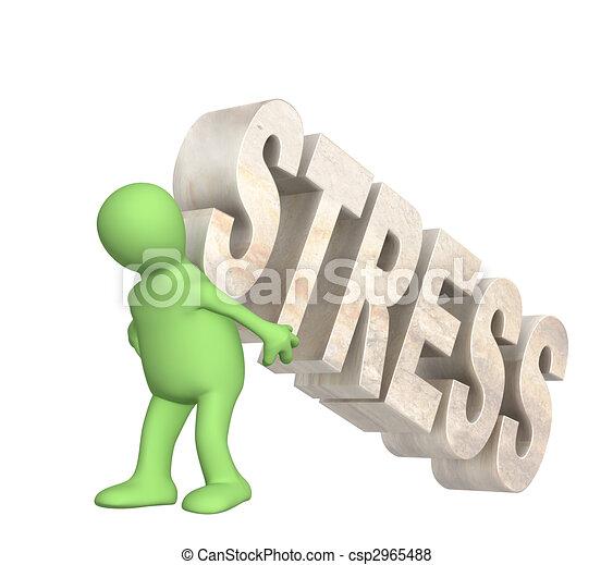 El rehén del estrés - csp2965488