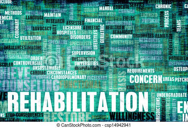 rehabilitatie - csp14942941