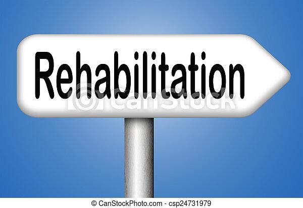 rehabilitation - csp24731979