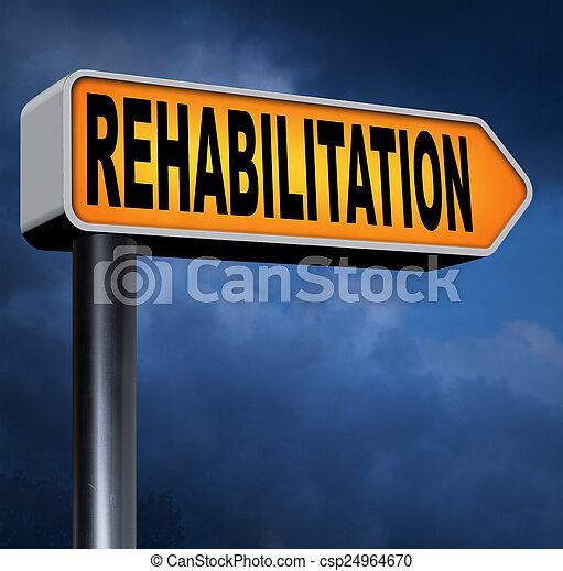 rehabilitation - csp24964670
