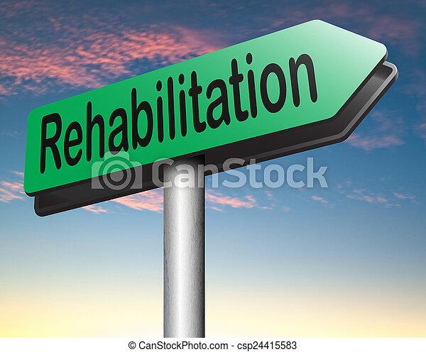 rehabilitation - csp24415583