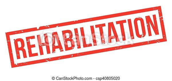 Rehabilitation rubber stamp - csp40805020