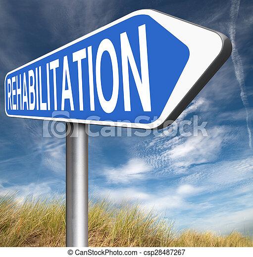 rehabilitation - csp28487267