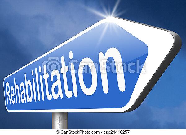 rehabilitation - csp24416257