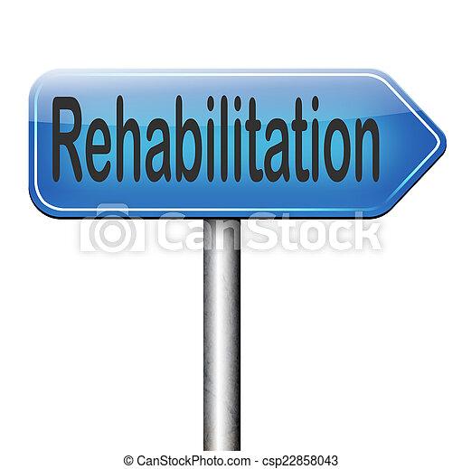 rehabilitation - csp22858043