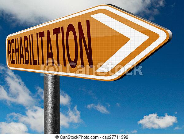 rehabilitation - csp27711392