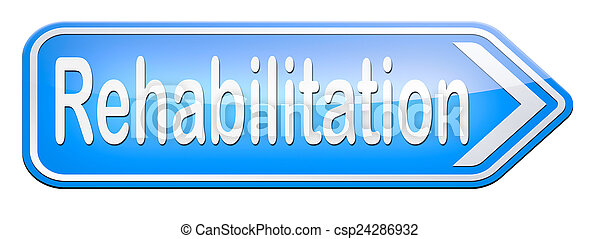 rehabilitation - csp24286932