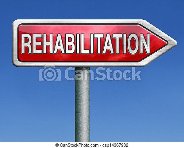 rehabilitering - csp14367932