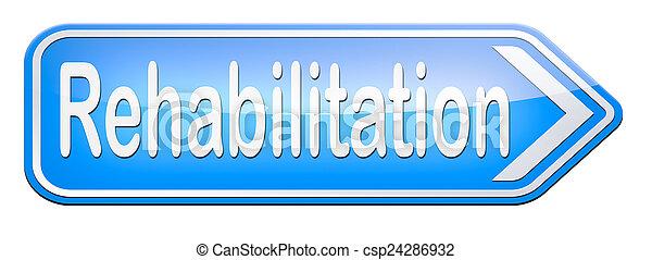 rehabilitering - csp24286932