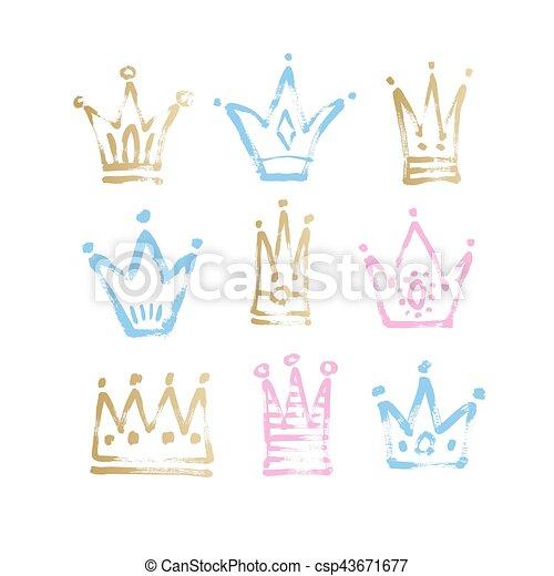 rei esboço coroa princesa desenho cor de rosa rei esboço