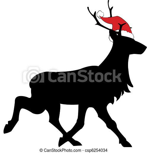 reindeer - csp6254034