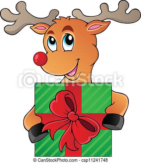 Reindeer theme image 5 - csp11241748
