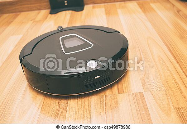 Fußboden Putzen ~ Reiniger boden laminat vakuum holz putzen robotic daheim