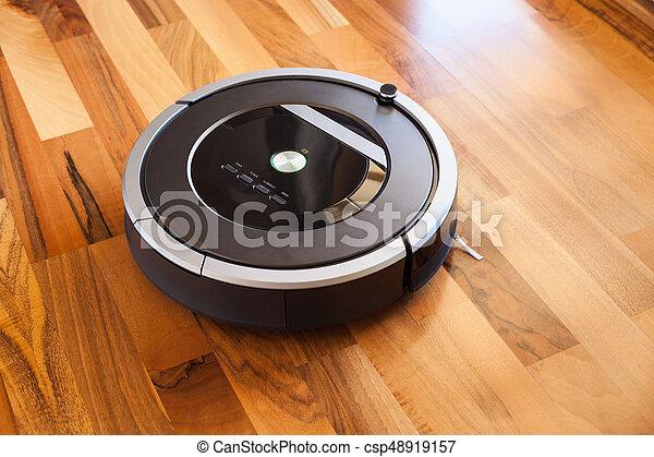 Fußboden Putzen ~ Reiniger boden laminat vakuum holz putzen robotic technologie