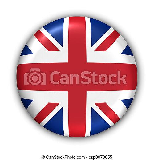 reino, bandera, unido - csp0070055