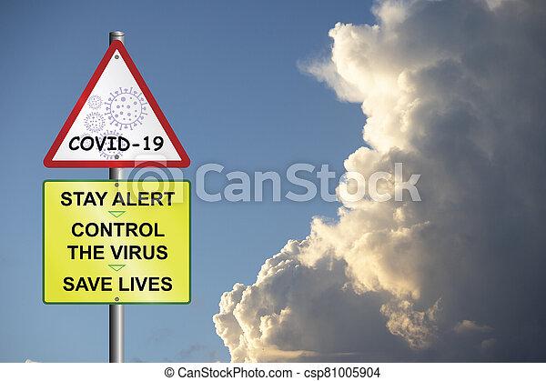 reino unido, prevención, mensaje, gobierno, revisado - csp81005904