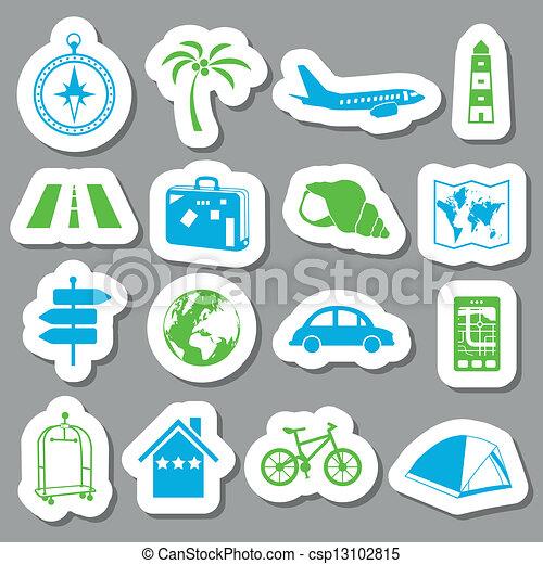 reizen, stickers - csp13102815