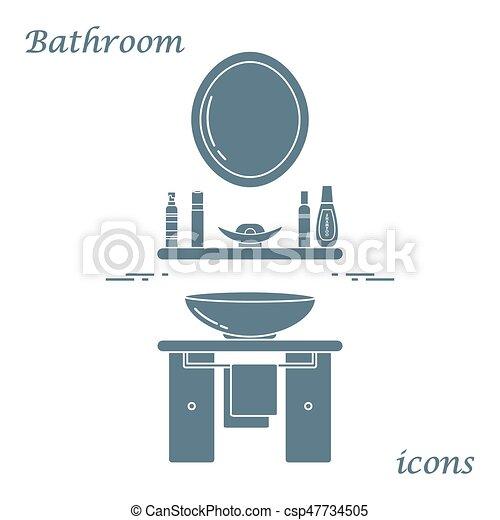 Waschbecken clipart  Vektor Clipart von reizend, badezimmer, waschbecken, vielfalt ...