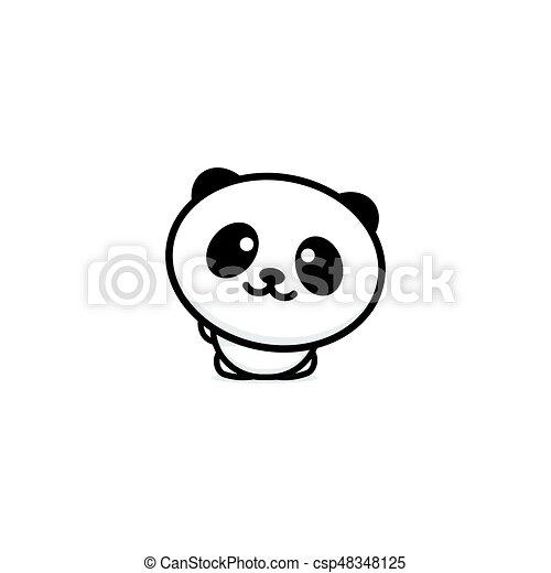 Reizend, chinesisches , farbe design, panda, willkommen,... Vektor ...