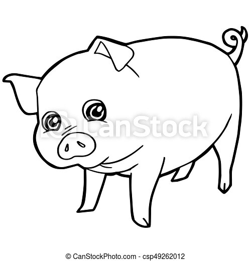 Charmant 3 Kleine Schweine Färbung Seite Zeitgenössisch - Ideen ...