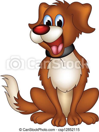 Karikatur Hund