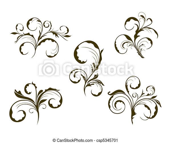 Hübsche Blume - csp5345701