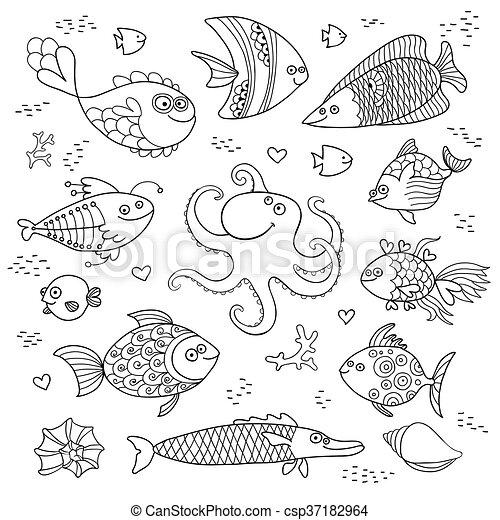 Großartig Fisch Färbung Arbeitsblatt Galerie - Ideen färben ...