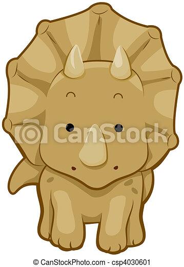 reizend, triceratops - csp4030601