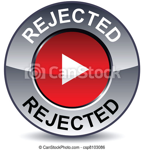 Rejected round button. - csp8103086