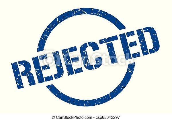 rejected stamp - csp65042297