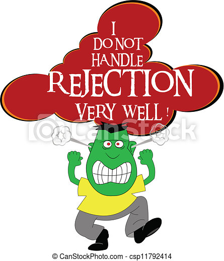 Rejection Stock Illustrations  6,795 Rejection clip art
