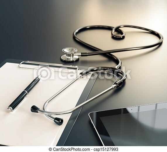 rekord, lékařský - csp15127993