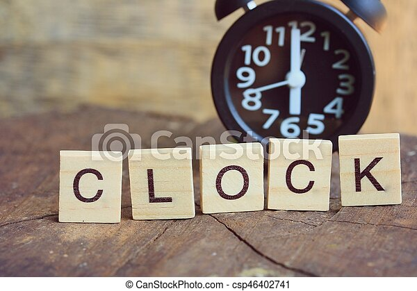 relógio - csp46402741