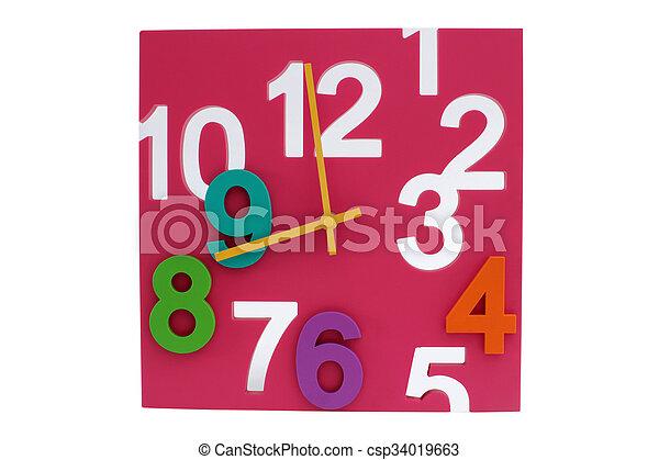 relógio - csp34019663