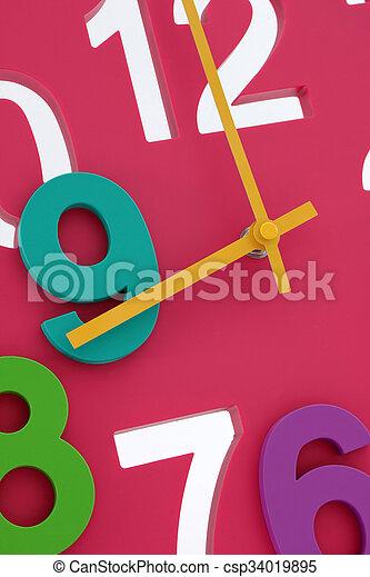 relógio - csp34019895