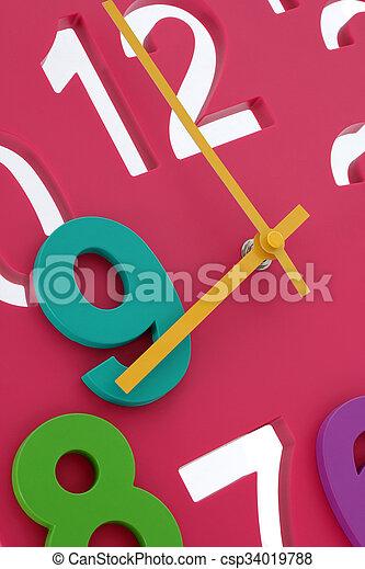 relógio - csp34019788