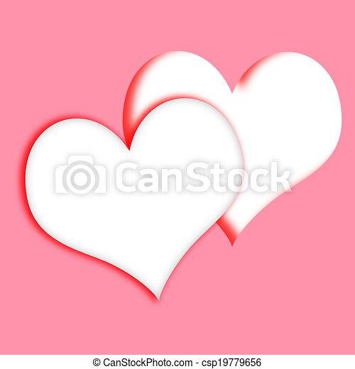 Relaciones Corazones Del Amor Intertwined Fechando Medio