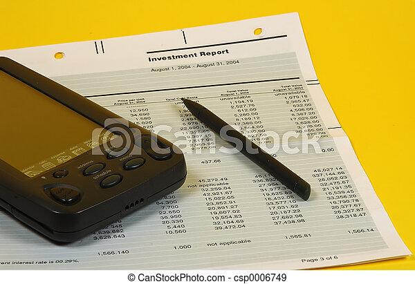 relatório, investimento - csp0006749