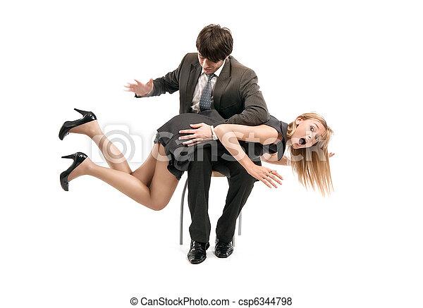 relations, photo, symbolique, equipe affaires - csp6344798
