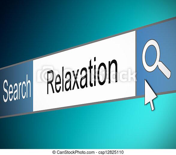 relaxamento, concept. - csp12825110