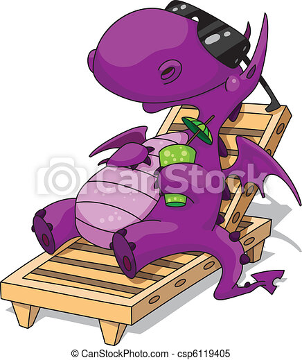relaxation dragon - csp6119405