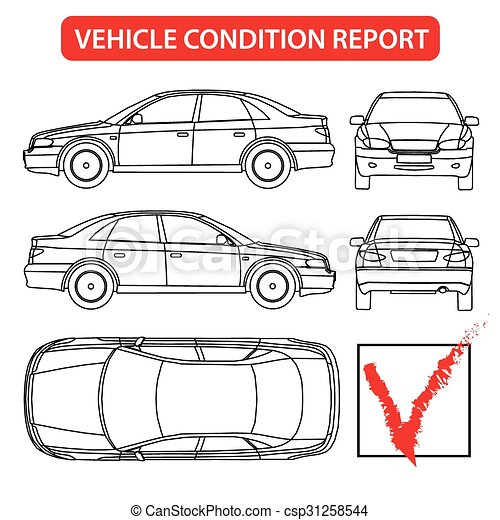 relazione, automobile, condizione, (car, assegno - csp31258544
