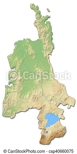 3d Map Of New Zealand.Relief Map Waikato New Zealand 3d Rendering