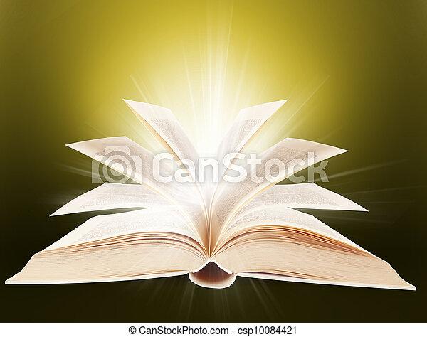religión, libro - csp10084421